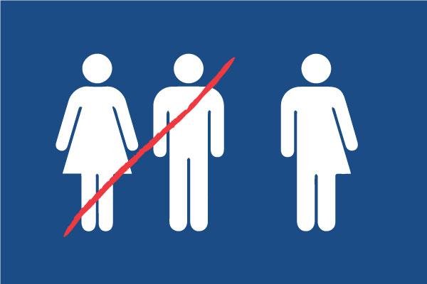 Lidentification Des Toilettes Symbolique Du Débat De L